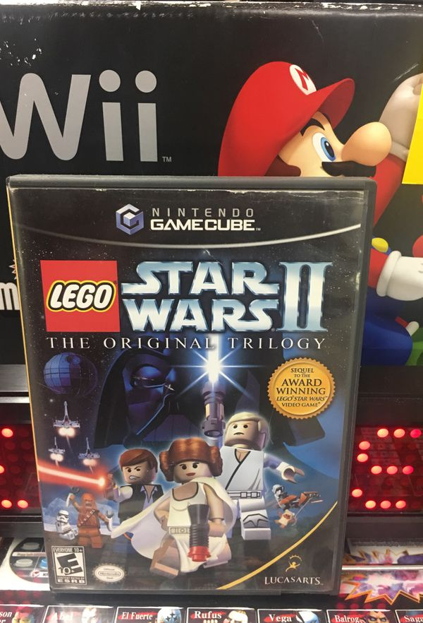 Nintendo Gamecube Lego Star Wars Ii Used Good Condition Complete For