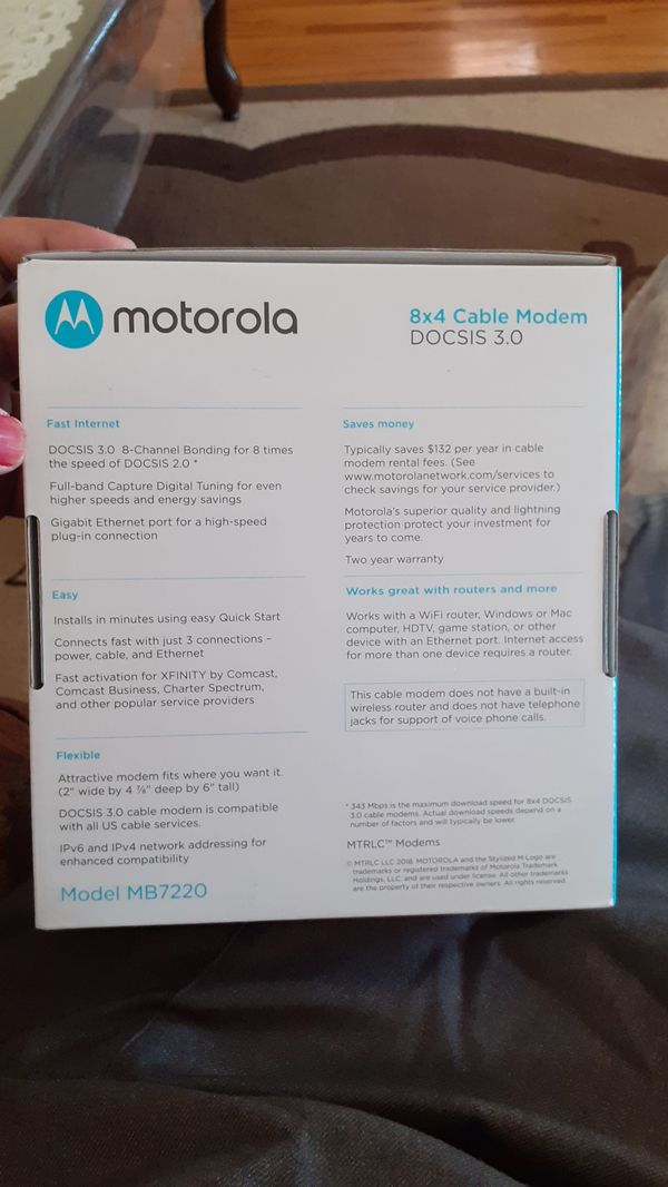 New and Used Motorola modem for Sale in Detroit, MI - OfferUp