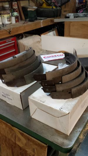 Brake shoes for 1957 chevy all new springs and tail lite lens for Sale in WA, US