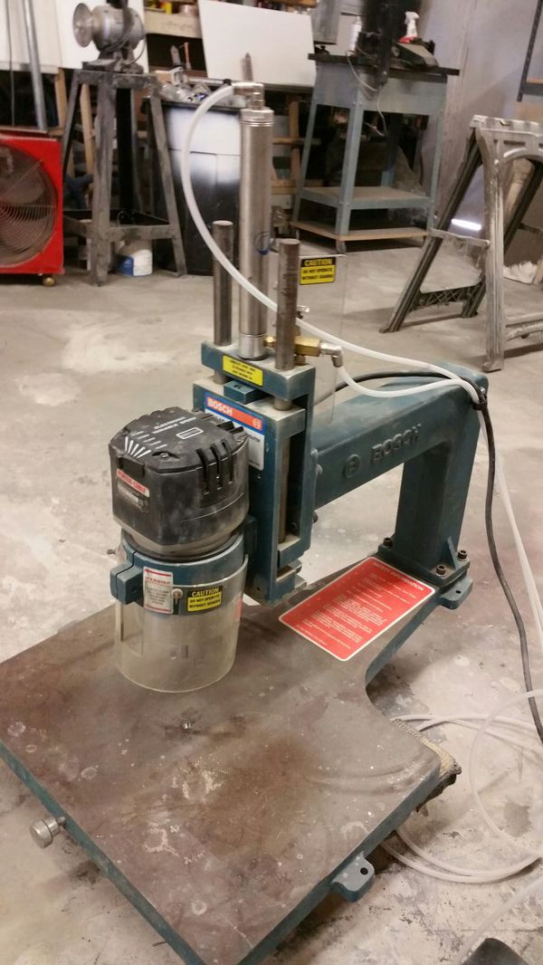 Overarm Pin Router - Best Router in The World