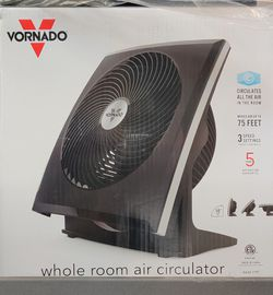 Flat Panel Whole Room Circulator (Fan) Thumbnail