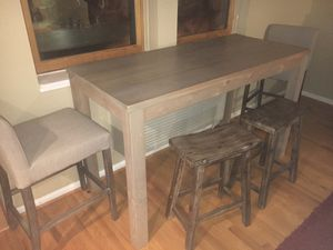 Dining room table and chairs for sale. for Sale in Washington, DC