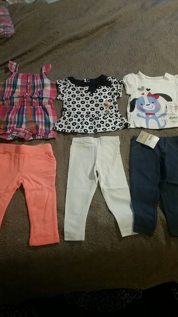 e8428d46192a New Size 12M 12 months baby girls clothing lot Carter Gymboree Children's  Place Crazy 8 jumping beans spring summer 12-18 months