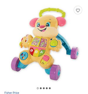 Photo Learn to walk fisher price baby walker