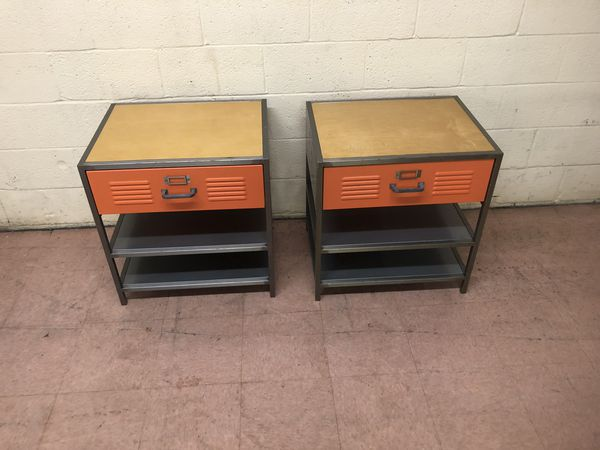 2 Pottery Barn Kids Locker Night Stands For Sale In
