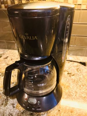 Photo Coffee Pot 12 cup