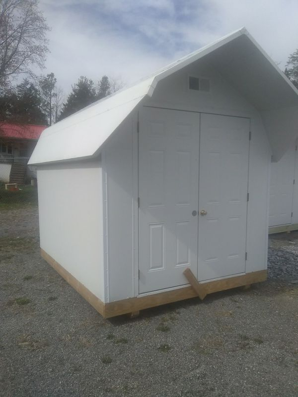 8x10 Insulated Metal Storage Shed Portable Building Mouse Proof Pre Wired  for Sale in Sevierville, TN - OfferUp
