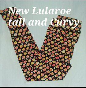 New Lularoe leggings Tall and Curvy