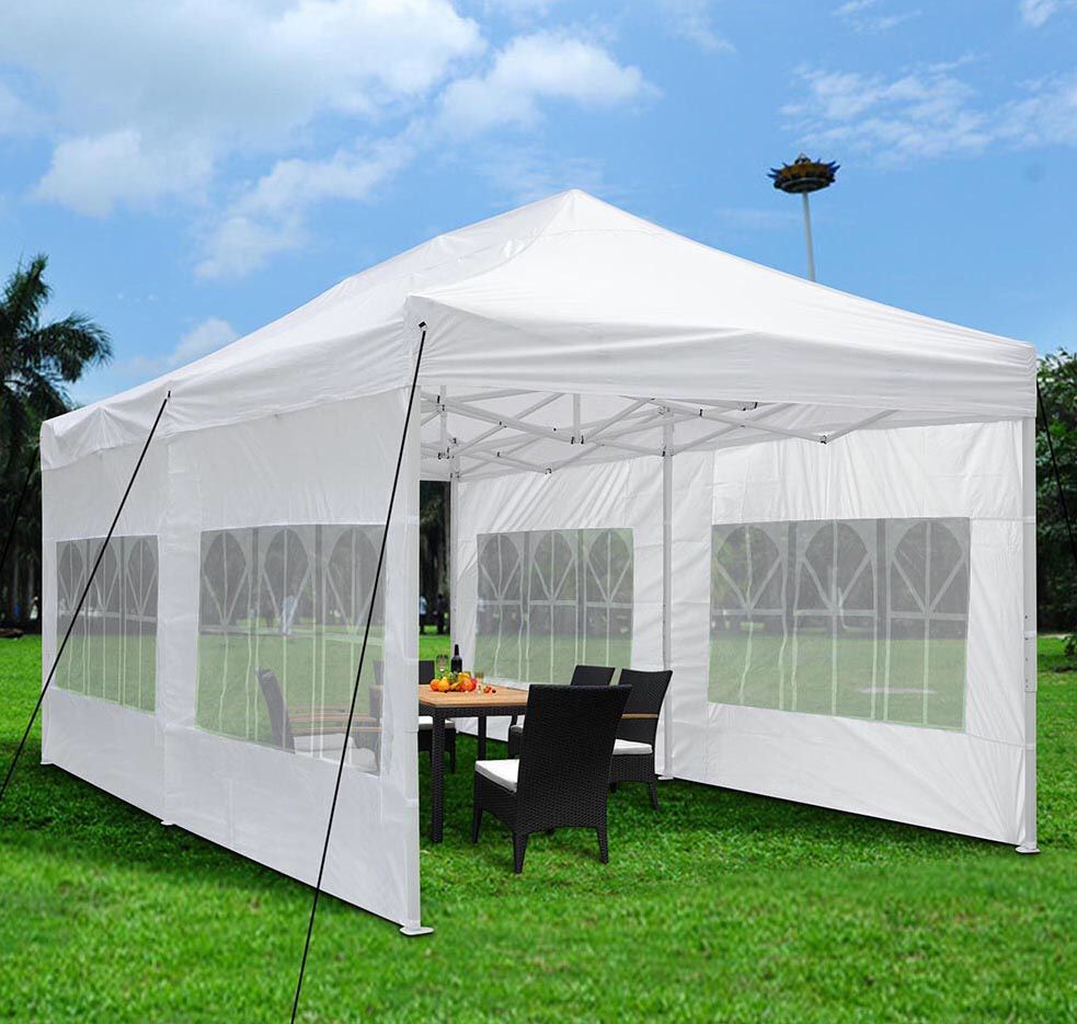 $230 Brand New Popup Canopy 10x20ft Sidewall