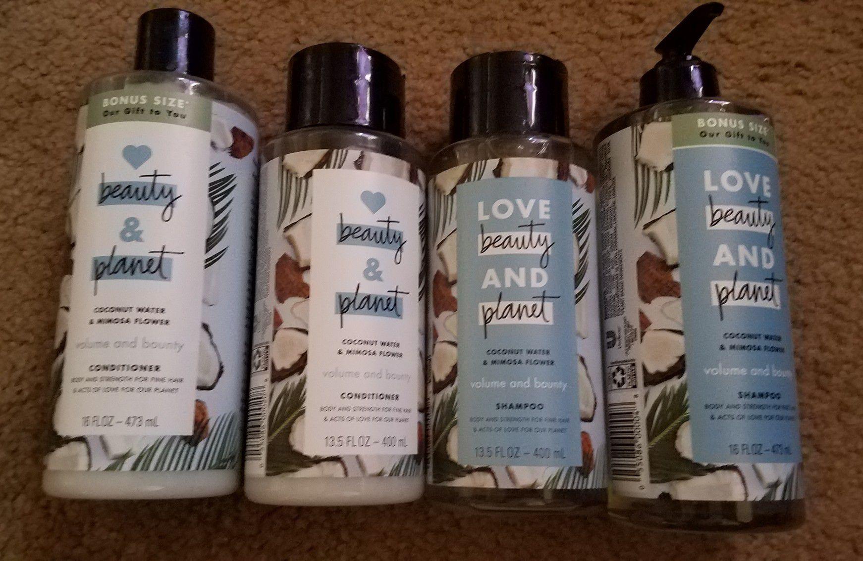 Shampoo &conditioner set