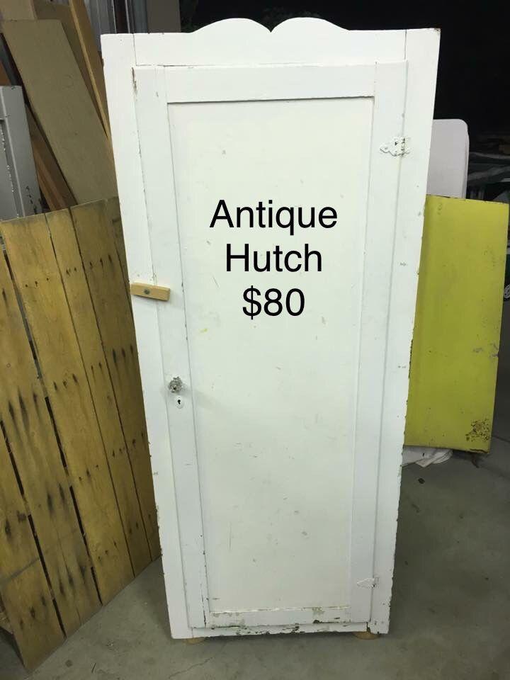 Antique Hutch/wardrobe