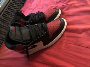 Jordan 1 bred toe for Sale in Takoma Park, MD