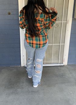 Flannel Brand New really cute Sizes Available Small, Medium and Large Thumbnail