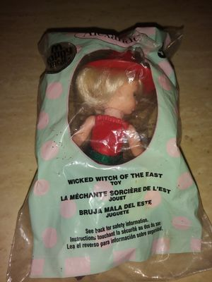Collectible wicked witch of the East toy for Sale in Glendale, CA