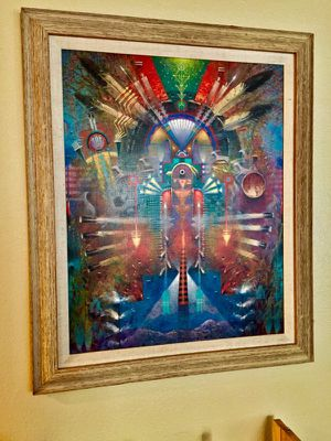 Navajo Indian Painting (print) in High Quality Frame for Sale in Las Vegas, NV