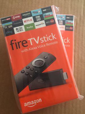 Amazon Fire tv stick with voice command remote 🔥 for Sale in Atlanta, GA
