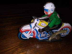 Tin toy ms - 702 motorcycle for Sale in Lancaster, CA