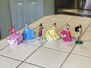 Toy Disney Princess Figurines for Sale in Puyallup, WA