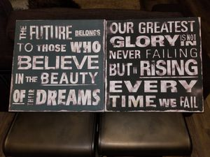 Wall Art (set of two) for Sale in Frederick, MD