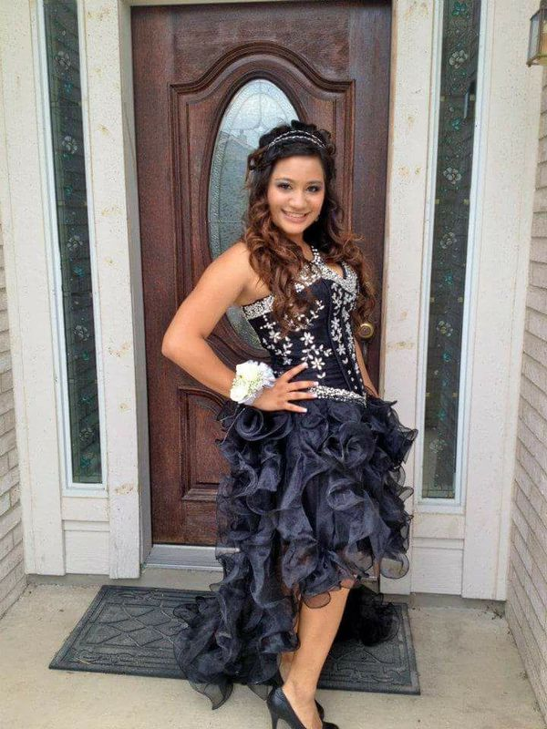ec4bc234195434 Black Formal Prom Dress for Sale in Converse