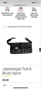 JAPONESQUE Brush and Tool Apron
