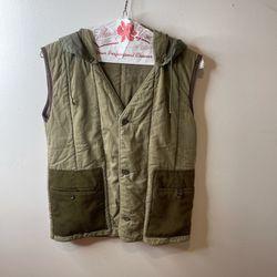 Arte Povera Kapital Type Green Vest Thumbnail
