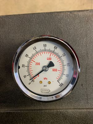 "Photo 0-100 psi ""NOSHOK"" gauge"