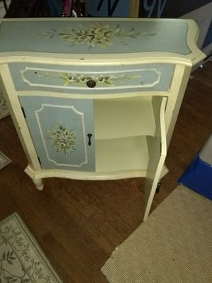 """Small hand painted cabinet 30"""" L for Sale in Fort Belvoir, VA"""