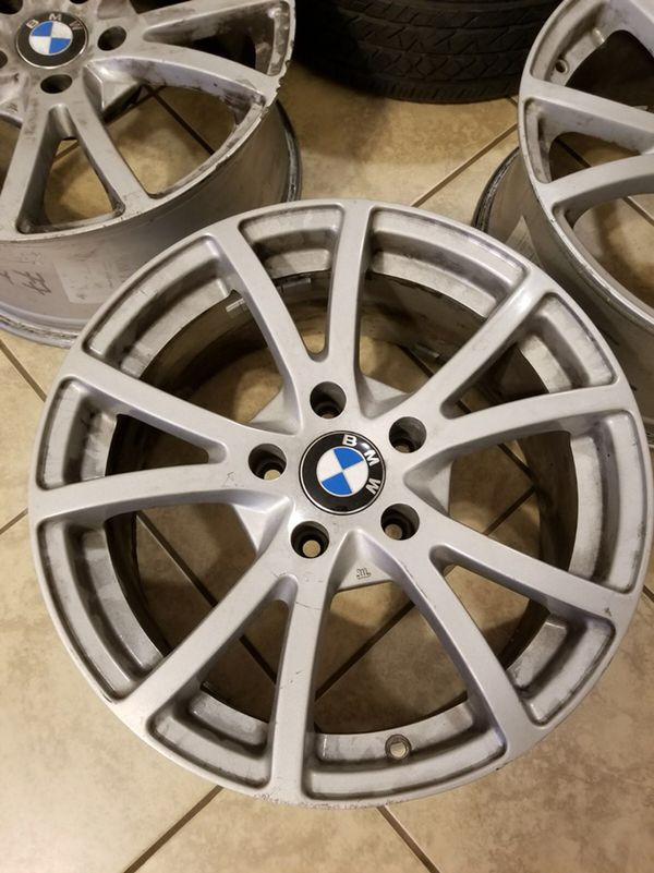 """Original Bmw Rims 17"""" (used) (Auto Parts) in Milford, CT - OfferUp"""