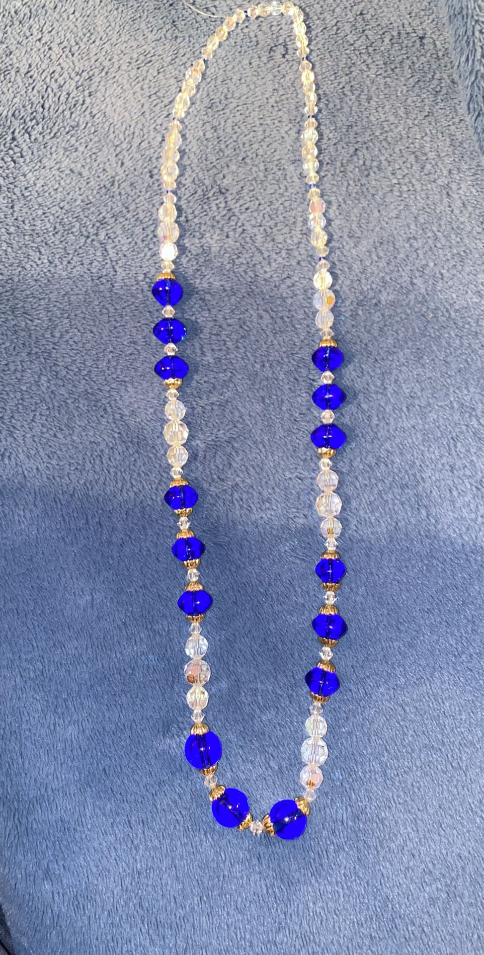 Beaded Sparkly Necklace!