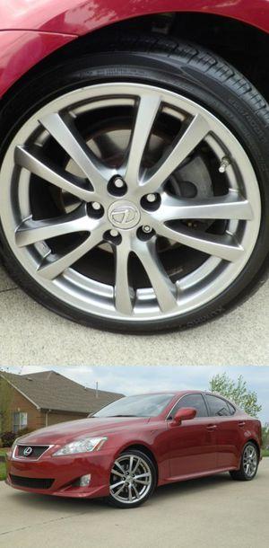 Photo $1200 Low Price! 2008 Lexus IS 250 red/black