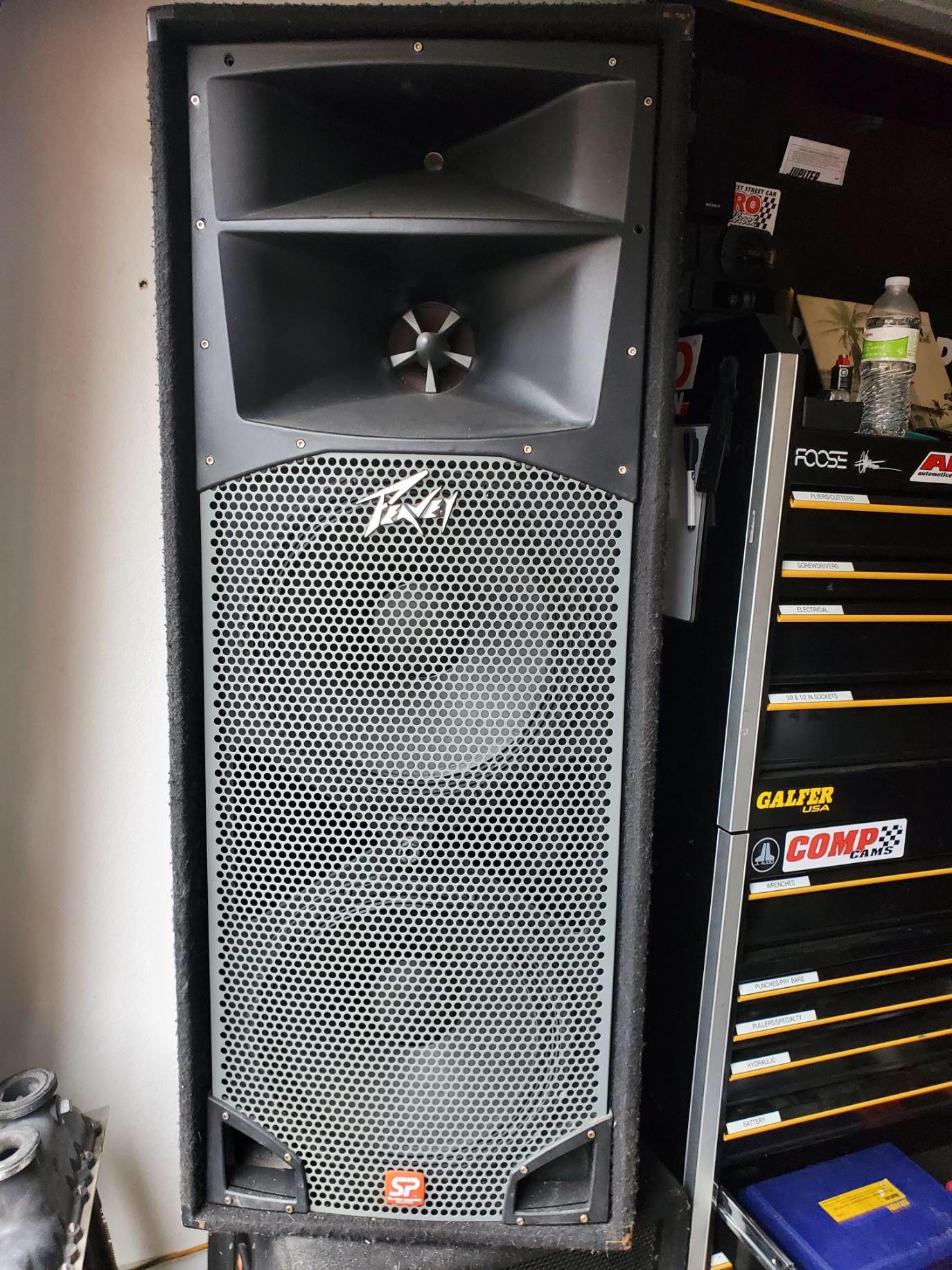 Peavey speakers SP series 2000 W FORON