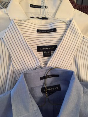 """15 Tall Men's Dress shirts 17 1/2"""" x 37 Tall $2 each like NEW. Long sleeves for Sale in Centreville, VA"""