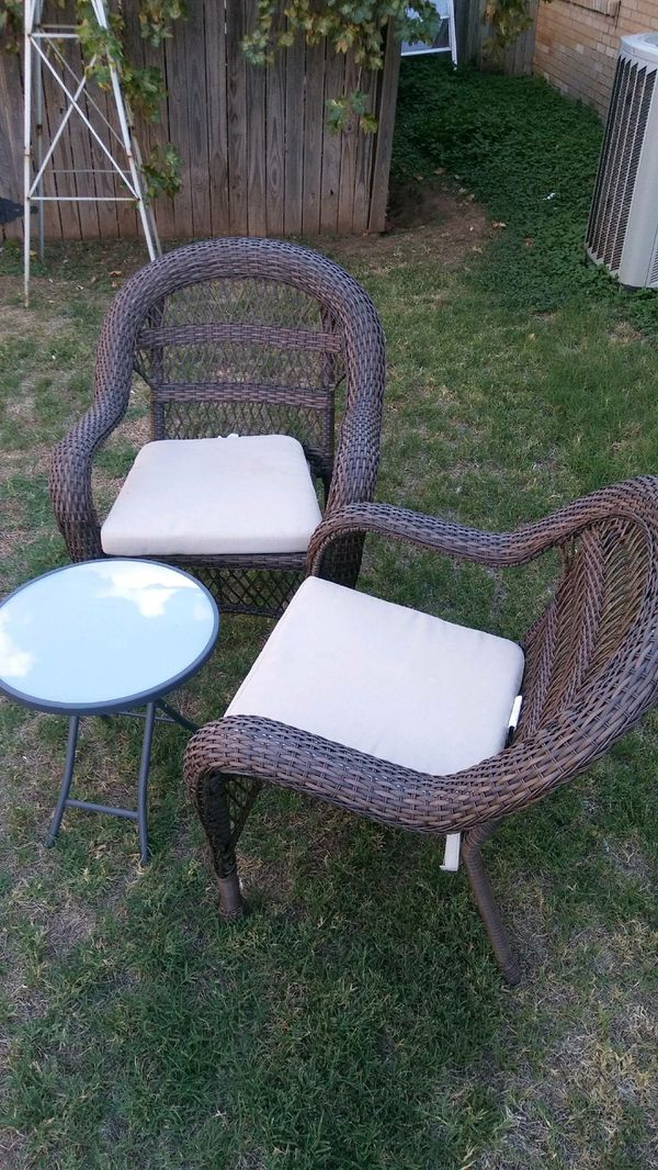 - Wicker Chairs/table For Sale In Lubbock, TX - OfferUp