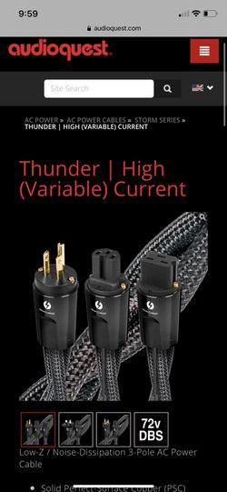 Audioquest Thunder Thumbnail