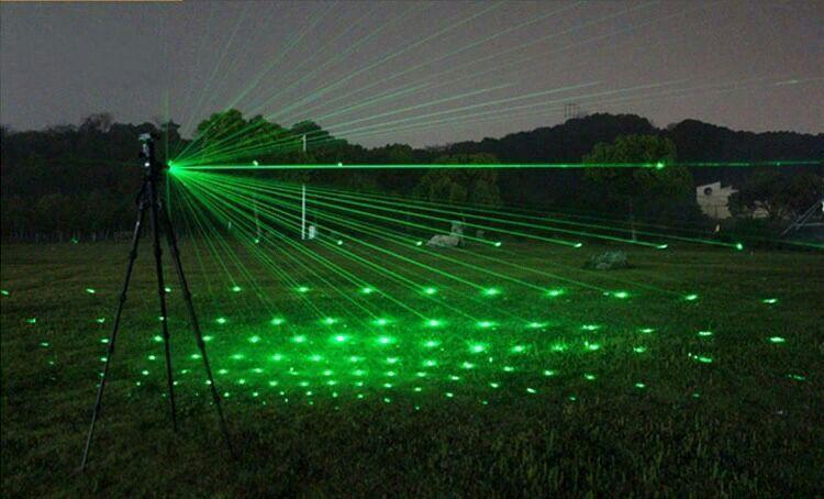 High beam laser pointer