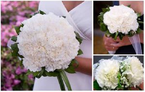 Carnation wedding flower package. for Sale in Washington, DC