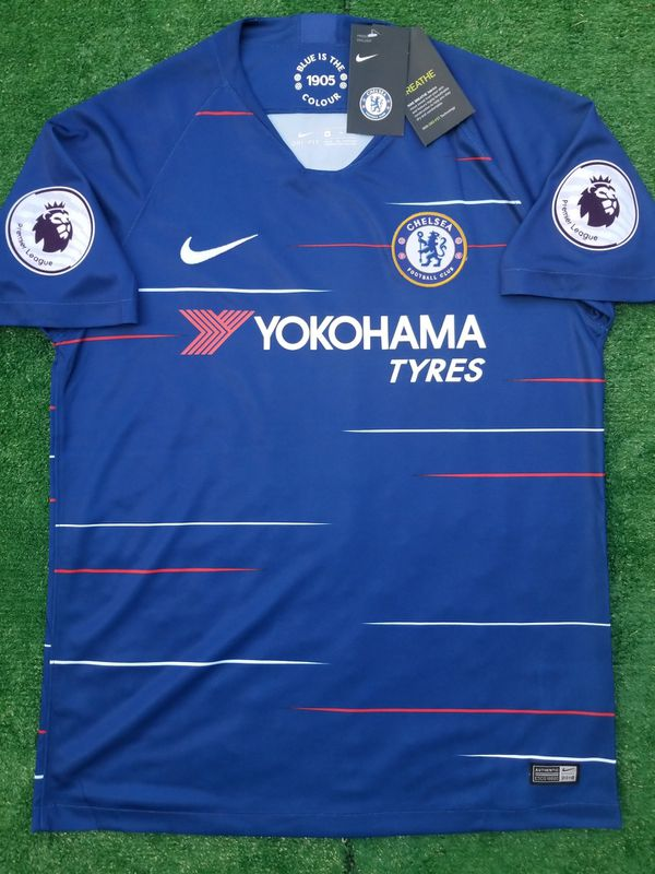 check out c35a6 bcb50 2018/19 Chelsea FC soccer jersey Hazard for Sale in Raleigh, NC - OfferUp