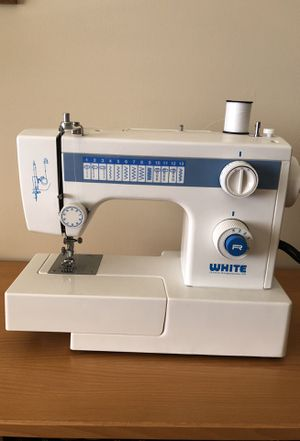 New And Used Sewing Machines For Sale In Los Angeles CA OfferUp Interesting White Heavy Duty Sewing Machine Model 1866