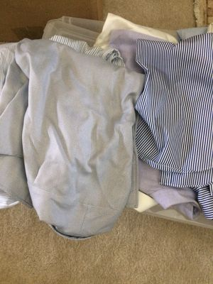 Bundle of Men's button down work shirts —10 for Sale in Herndon, VA