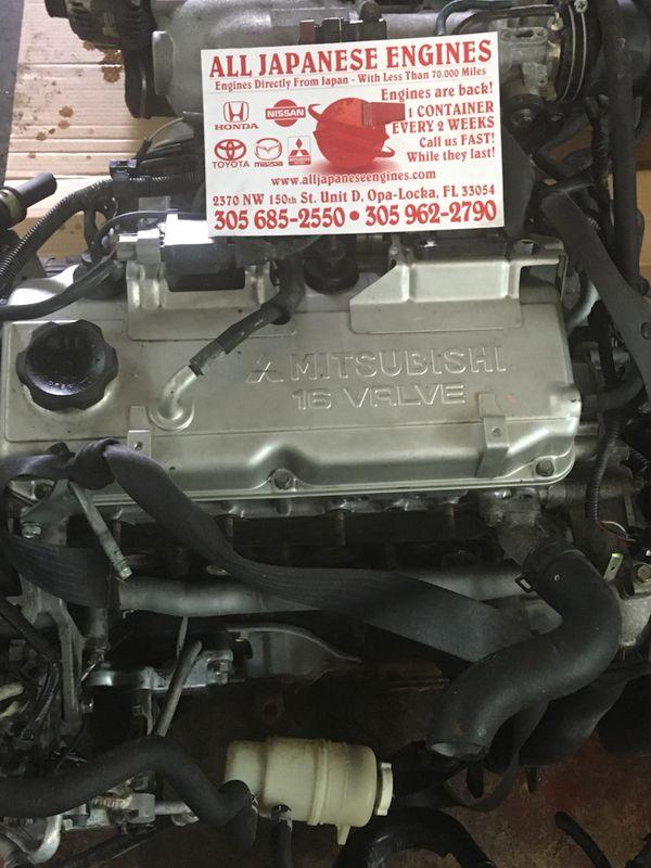 JDM Mitsubishi Lancer 4G94 SOHC 2 0 02-07 Engine for Sale in Opa-locka, FL  - OfferUp