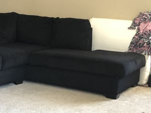 Swell New And Used Black Sectional For Sale In Roseville Ca Offerup Evergreenethics Interior Chair Design Evergreenethicsorg