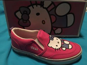 59bf9babb97 Hello Kitty Pink Vans Asher Size 3.5 for Sale in Baldwin Park