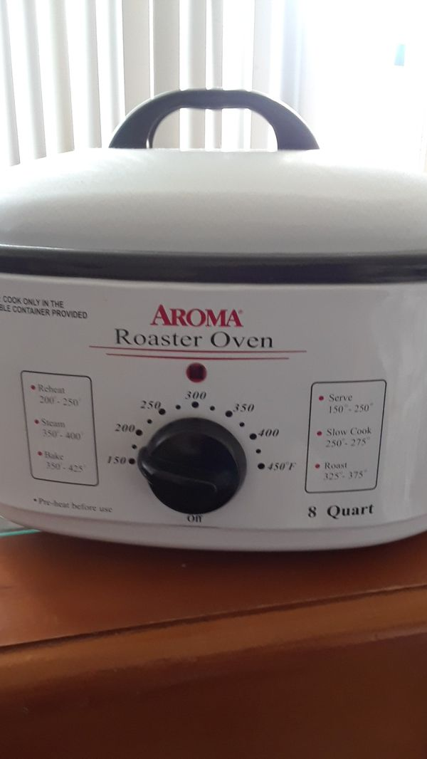 8 Quart Aroma Roaster Oven For Sale In Victorville CA