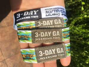 3 ACL wristbands for Sale in Austin, TX