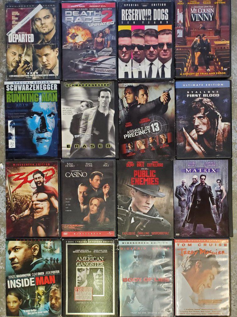 16 DVD's