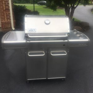 Weber Stainless Steel Genesis Natural Gas Grill for Sale in Chantilly, VA