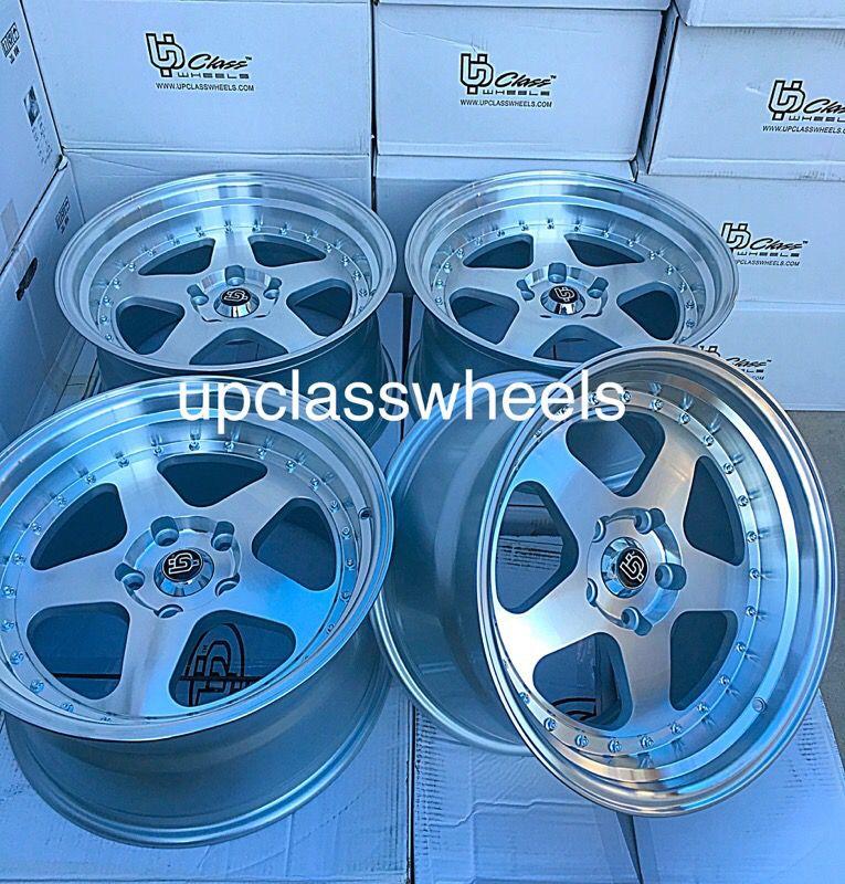 """17"""" wheels new 5x114.3 all 4 $350 new 17x9"""