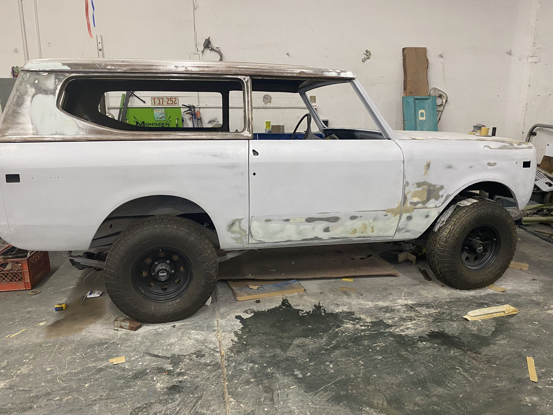 1973 Scout 4x4 Project For Sale