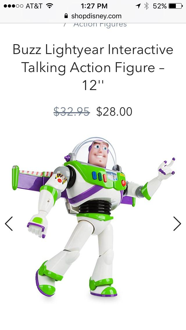 Buzz Lightyear Toy / action figure